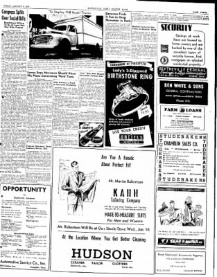 The Courier News from Blytheville, Arkansas on January 9, 1948 · Page 3