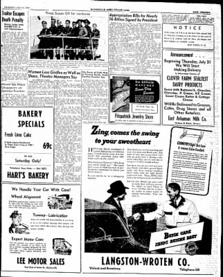 The Courier News from Blytheville, Arkansas on July 31, 1947 · Page 13