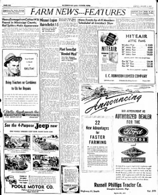 The Courier News from Blytheville, Arkansas on August 1, 1947 · Page 4