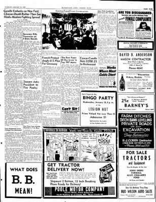 The Courier News from Blytheville, Arkansas on January 13, 1948 · Page 4