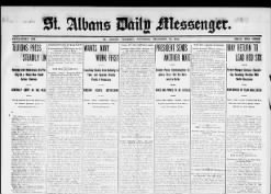 St. Albans Daily Messenger