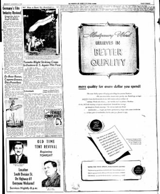 The Courier News from Blytheville, Arkansas on August 4, 1947 · Page 3