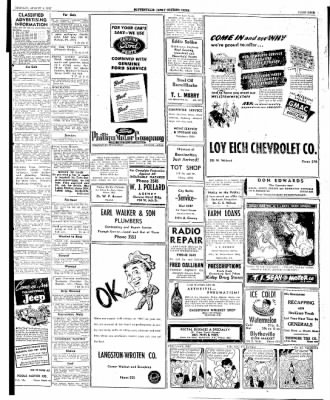 The Courier News from Blytheville, Arkansas on August 4, 1947 · Page 9