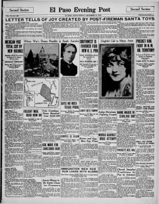 El Paso Evening Post from El Paso, Texas on December 14, 1928 · Page 13