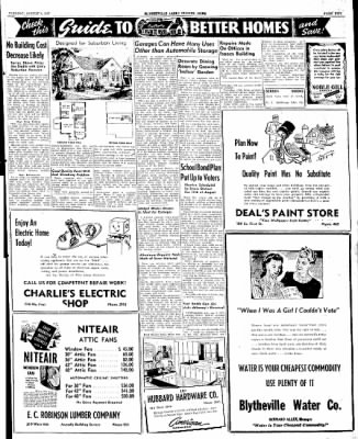 The Courier News from Blytheville, Arkansas on August 5, 1947 · Page 5
