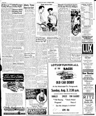 The Courier News from Blytheville, Arkansas on August 5, 1947 · Page 6