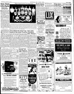 The Courier News from Blytheville, Arkansas on January 15, 1948 · Page 7