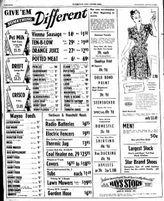 The Courier News from Blytheville, Arkansas on August 7, 1947 · Page 8