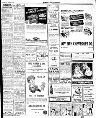 The Courier News from Blytheville, Arkansas on August 7, 1947 · Page 15