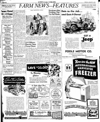 The Courier News from Blytheville, Arkansas on August 8, 1947 · Page 3