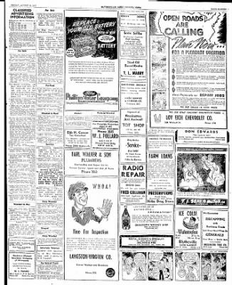 The Courier News from Blytheville, Arkansas on August 8, 1947 · Page 6