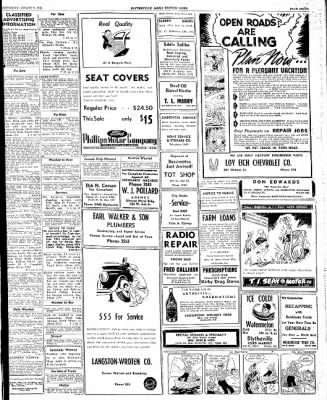The Courier News from Blytheville, Arkansas on August 9, 1947 · Page 7