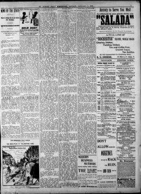 St. Albans Daily Messenger from Saint Albans, Vermont on January 5, 1903 · 3