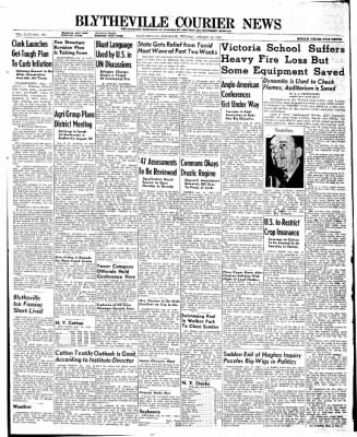 The Courier News from Blytheville, Arkansas on August 12, 1947 · Page 1