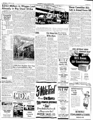 The Courier News from Blytheville, Arkansas on June 26, 1952 · Page 3