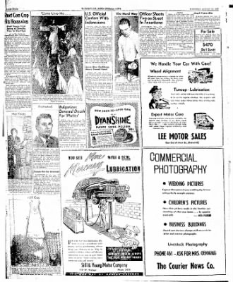The Courier News from Blytheville, Arkansas on August 12, 1947 · Page 4