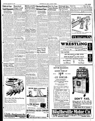 The Courier News from Blytheville, Arkansas on January 19, 1948 · Page 7