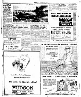 The Courier News from Blytheville, Arkansas on August 12, 1947 · Page 8