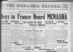 The Menasha Record