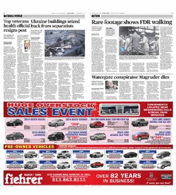 The Journal News From Hamilton Ohio On May - Fiehrer motors car show