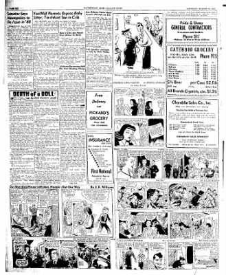 The Courier News from Blytheville, Arkansas on August 16, 1947 · Page 6