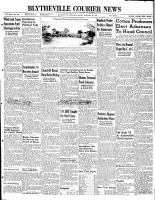 The Courier News from Blytheville, Arkansas on January 23, 1948 · Page 1