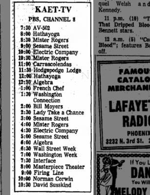 KAET 3 May 1974