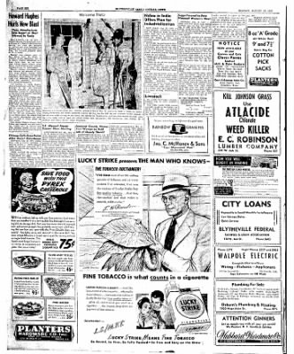 The Courier News from Blytheville, Arkansas on August 18, 1947 · Page 6