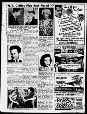 Daily News from New York, New York on December 30, 1947 · 376