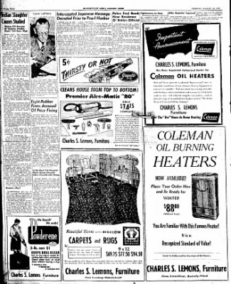 The Courier News from Blytheville, Arkansas on August 19, 1947 · Page 2