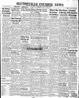 The Courier News from Blytheville, Arkansas on August 20, 1947 · Page 1