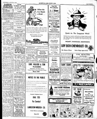 The Courier News from Blytheville, Arkansas on August 20, 1947 · Page 11