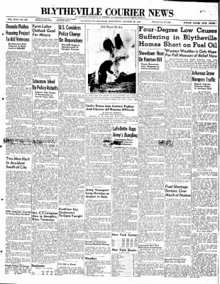 The Courier News from Blytheville, Arkansas on January 28, 1948 · Page 1