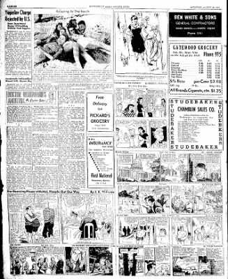 The Courier News from Blytheville, Arkansas on August 23, 1947 · Page 6