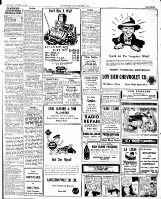 The Courier News from Blytheville, Arkansas on August 23, 1947 · Page 7