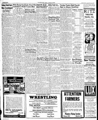 The Courier News from Blytheville, Arkansas on August 23, 1947 · Page 8