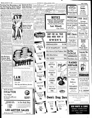 The Courier News from ,  on January 30, 1948 · Page 3