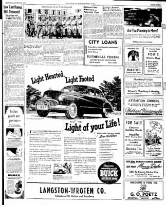The Courier News from Blytheville, Arkansas on August 25, 1947 · Page 7
