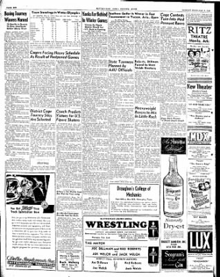 The Courier News from Blytheville, Arkansas on February 2, 1948 · Page 6