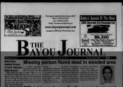 The Bayou Journal