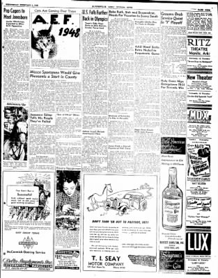 The Courier News from Blytheville, Arkansas on February 4, 1948 · Page 9