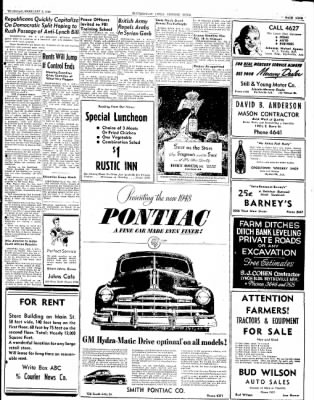 The Courier News from Blytheville, Arkansas on February 5, 1948 · Page 9