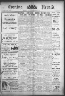 Republican And Herald From Pottsville Pennsylvania On September 19 1907 1