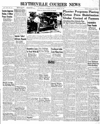 The Courier News from Blytheville, Arkansas on August 30, 1947 · Page 1