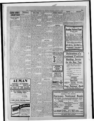 Reading Times from Reading, Pennsylvania on January 5, 1914 · Page 3