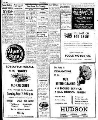 The Courier News from Blytheville, Arkansas on September 1, 1947 · Page 2
