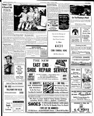 The Courier News from Blytheville, Arkansas on September 1, 1947 · Page 7