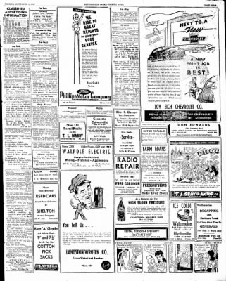 The Courier News from Blytheville, Arkansas on September 1, 1947 · Page 11