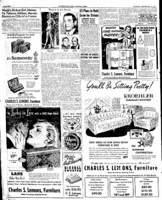 The Courier News from Blytheville, Arkansas on September 2, 1947 · Page 2
