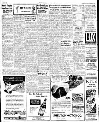 The Courier News from Blytheville, Arkansas on September 2, 1947 · Page 6